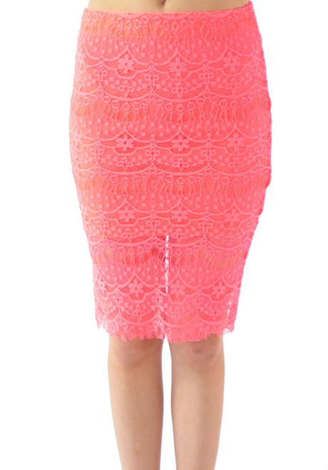 292e5ff37 $21.99 Tags! Rayon Crochet Pencil Skirt! Fully Lined. (E-51) -  5dollarfashions.com