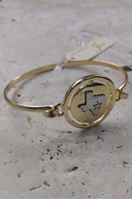 Texas Lone Star State Charm Bracelet!  (G-29)