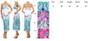 Maxi Dress Halter  White w/Turquoise Paisley (C-159)