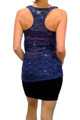Blue Lace Tank Top with $19.99 Tags from WET SEAL! ** LARGE ONLY **  (B-36)