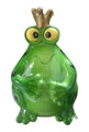 REFRIGERATOR MAGNET WITH CLIP! BOBBLE HEAD FROG!