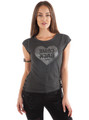 "100% Cotton Boutique Tee! Lace Up Sides! ""Come Back to Me""  (A-71)"