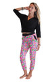 Pullover Cardigan With 3/4 Length Sleeves. Black. Juniors Plus Size.  (B-111)