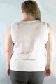 Plus Size Top Is Amazing Cotton-Rayon Blend! Heather Grey. (B-41)