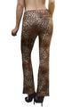 Aztec Palazzo Pants In Brown Cheetah/Leopard! (D-169)