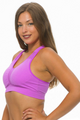 Get Active! Sports Bra/Workout Top with Racer Back! Magenta, Purple. (A-40)