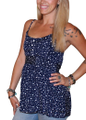 Plus Size Navy & White Polka Dot Top ties with a Bow in the Back! (B-157)