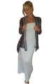 Maxi Skirt OR Maxi Dress! Fall Ivory White Maxi can be worn 2 ways. (C-111)