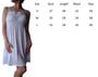 Double Spaghetti Strape Cotton Ruched Bodice White Dress (D-58)
