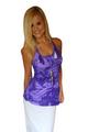 Purple Tie Dye Tank Top is 100% Rayon! (B-96)