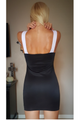 Black Bodycon Dress from CHESLEY with Sexy Cutout! (C-187)