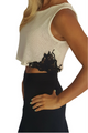 Boutique Crochet Ivory Top with Boho Accents! (A-198)