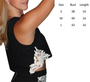 Boutique Crochet Black Top with Boho Accents!  (A-197)