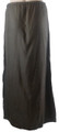 100% Rayon Maxi Skirt with Elephant Detail Brown (i-5)