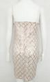 Sexy Club, Beige Sequin Sling Mini Dress (4-83)