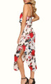 Chiffon Sling Floral White Maxi Dress (13-25)