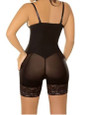 Black Under-Bust Shapewear Mesh/Lace (13-163)