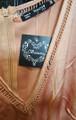 Sleeveless Satin Bronze & Black Jumpsuit (27-15)