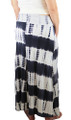 Cotton Denim/White Tye Dyed Maxi Skirt (32-16)
