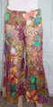 100% Cotton Multi Earth Tone Floral Boho Pants (32-28)