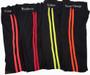 Black Sport Legging w/Neon Yellow Stripe (31-1)