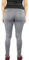 Gray Space-dyed w/Black Sport Leggings (31-15)