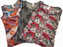 Floral Print Fitted  Sport Top (31-25)