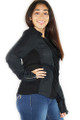 AWESOME! Long Sleeve Black Jacket (33-5)