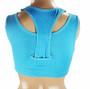 Yoga Blue Padded | Wireless Sports Bra (14-15)