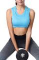 Yoga Blue Padded   Wireless Sports Bra (14-15)