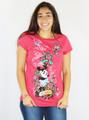 Junior Disney Tee Shirt Red Minnie Mouse (K-11)