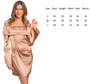 Satin Bell Sleeve Off Shoulder Sexy Wine Dress (41-7)