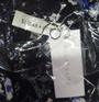 Black w/Blue Floral Print Bell Sleeve Dress (42-6)