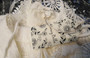 Elegant Spaghetti Strap Crochet Detail Off White Jumpsuit (42-12)