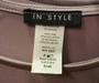 Elegant Bell Long Sleeve Lilac Bodycon Dress (42-14)