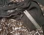 Sexy Chiffon Sleeveless Black/Bronze Jumpsuit (26-39)