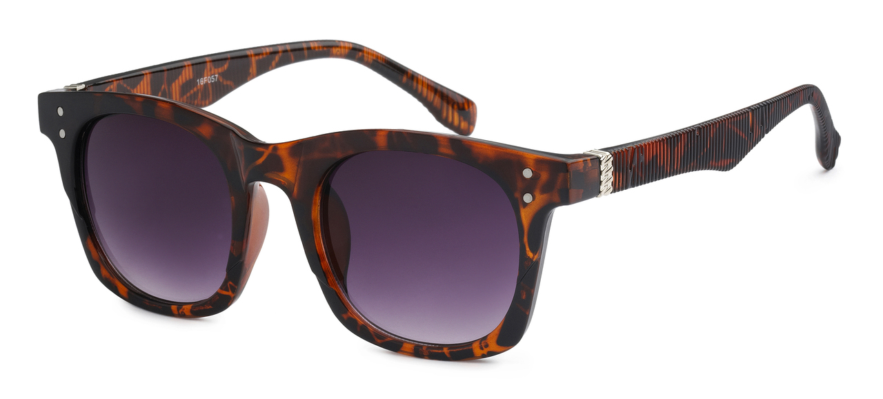 065d2ef73a7 UV400 PROTECTION! HIGH QUALITY SUNGLASSES. RAY-BAN STYLE WITH RIBBED FRAMES.  BROWN