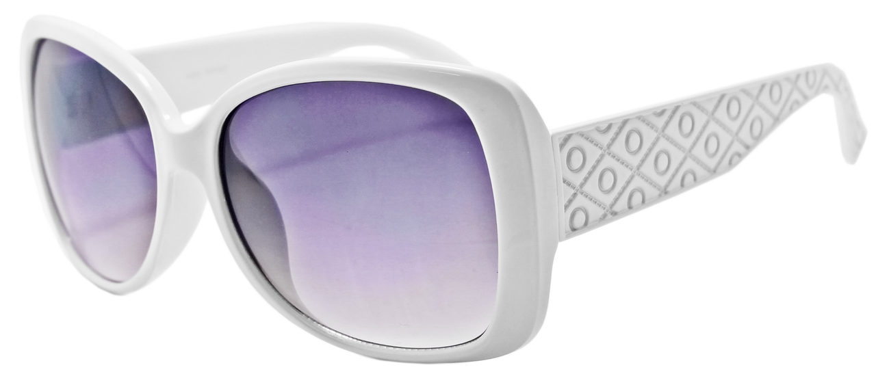 UV400 PROTECTION! UBER-MODERN WHITE FRAME SUNGLASSES!
