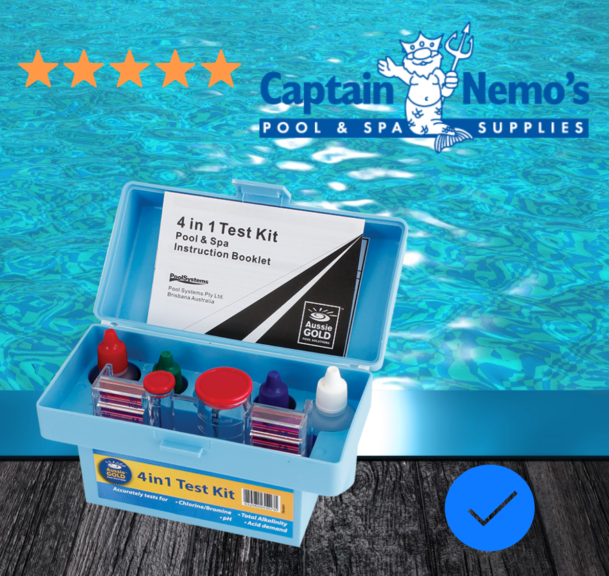 Pool and Spa Test Kits