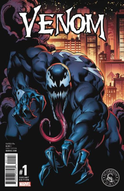 Venom #1 Mark Bagley Variant