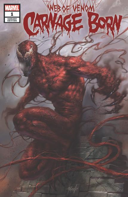 Web of Venom Carnage Born #1 Parrillo Variant