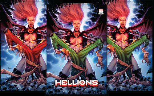 Hellions 3 Jay Anacleto Variant Set