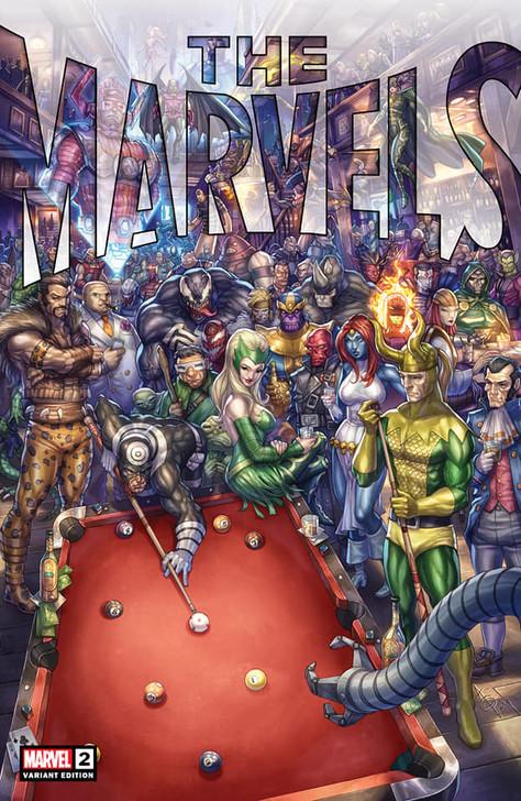 The Marvels #2 Alan Quah Trade Variant