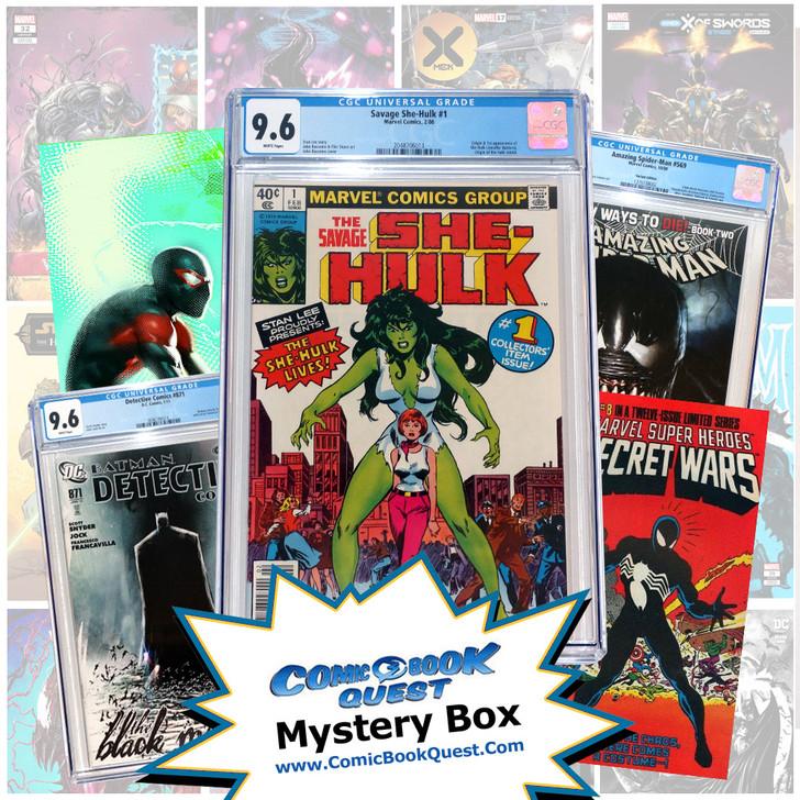 CBQ Summer Mystery Box