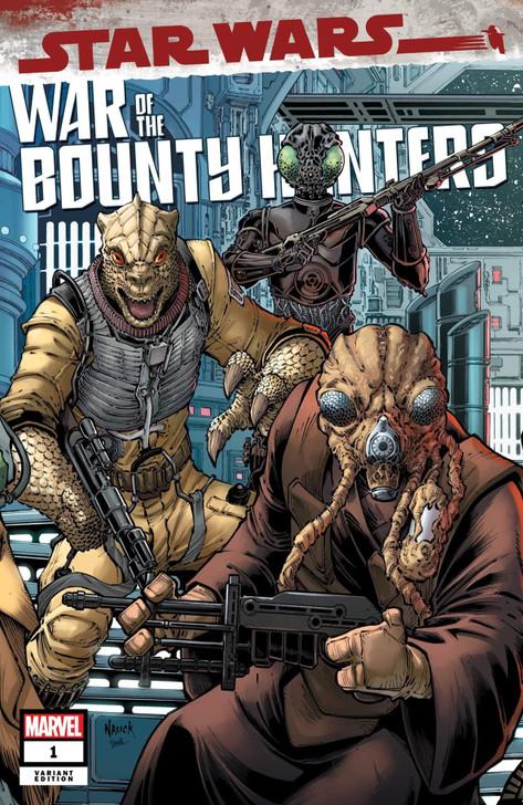 Star Wars War of the Bounty Hunters #1 Todd Nauck Trade Variant