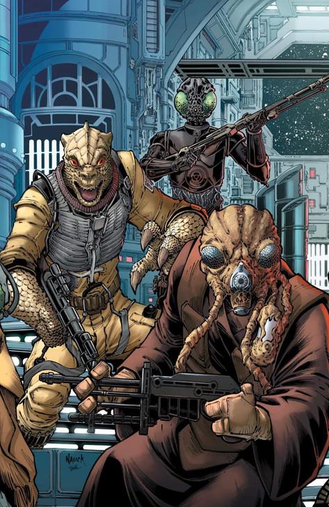 Star Wars War of the Bounty Hunters #1 Todd Nauck Virgin Variant