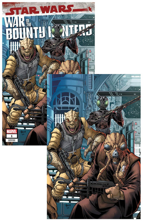 Star Wars War of the Bounty Hunters #1 Todd Nauck Virgin SET