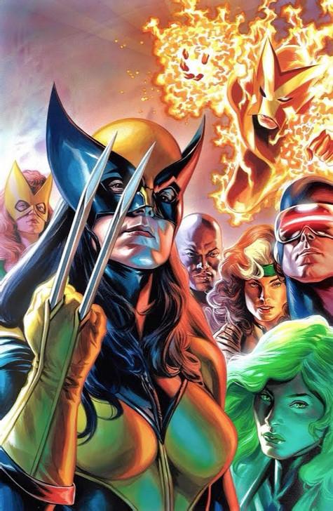 X-Men #1 Felipe Massafera Virgin Variant