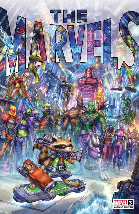 The Marvels #3 Alan Quah Trade Variant