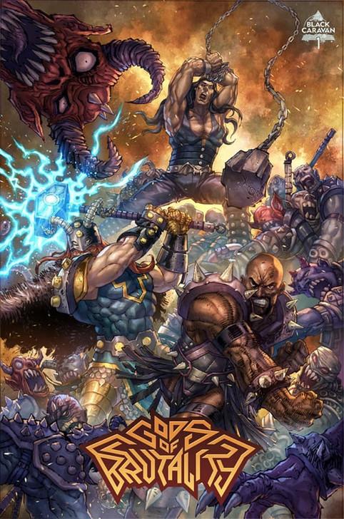 Gods of Brutality #1 Alan Quah Trade Variant